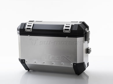SW Motech TraX EVO Pannier System Silver 37L Left and Right