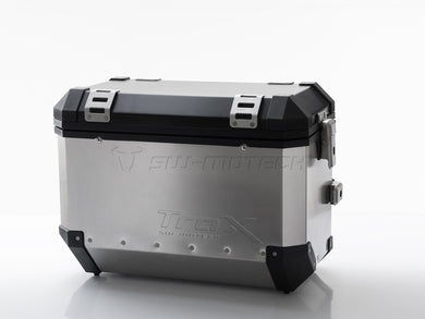 SW Motech TraX EVO Pannier System Silver 45L Left and Right