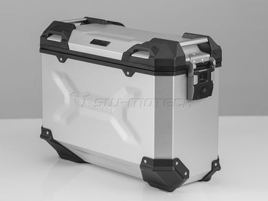 SW Motech TRAX ADV Pannier System Silver 37L Left and Right