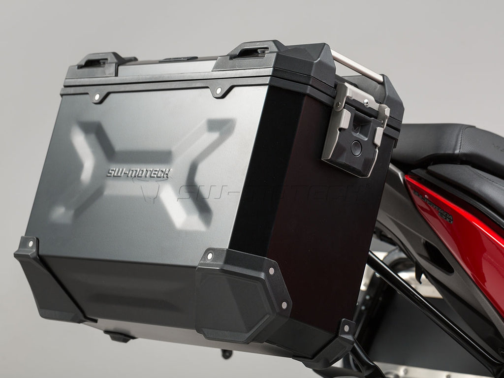 SW Motech TRAX ADV Pannier System Black 45L Left and Right