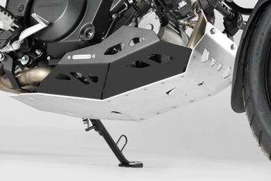 SW Motech Engine guard Black and Silver Models with Crashbar