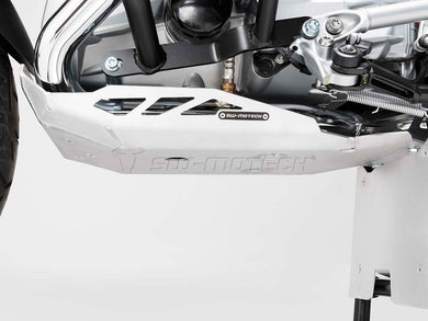 SW Motech Engine Guard Silver