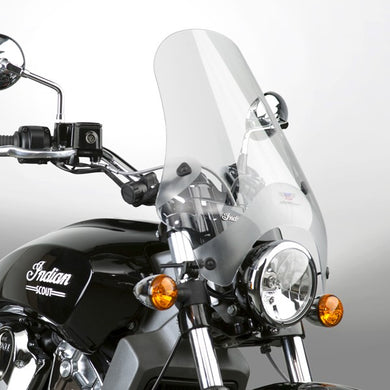 National Cycle Street Shield with U-Clamp Mount Clear