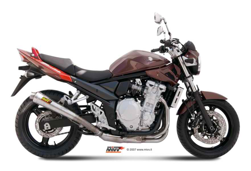 Mivv X cone SLIP ON ST STEEL Exhaust