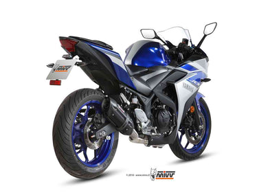 Mivv SUONO Full System STEEL BLACK Exhaust