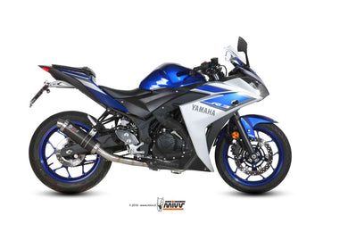 Mivv GP Full System STEEL BLACK Exhaust