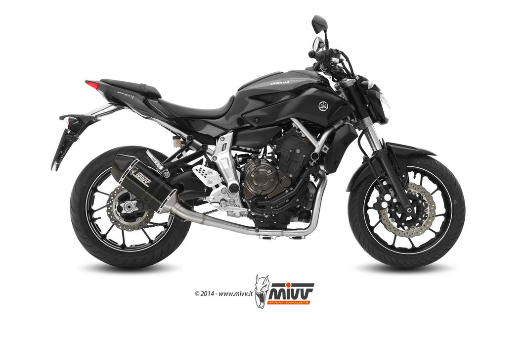 Mivv OVAL Full System TITAN carbon cap Exhaust