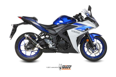 Mivv GP SLIP ON STEEL BLACK Exhaust