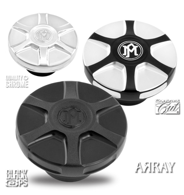 Performance Machine Array Fuel Caps