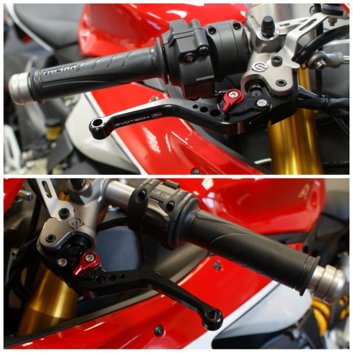 Evotech Performance Short Clutch and Brake Lever set