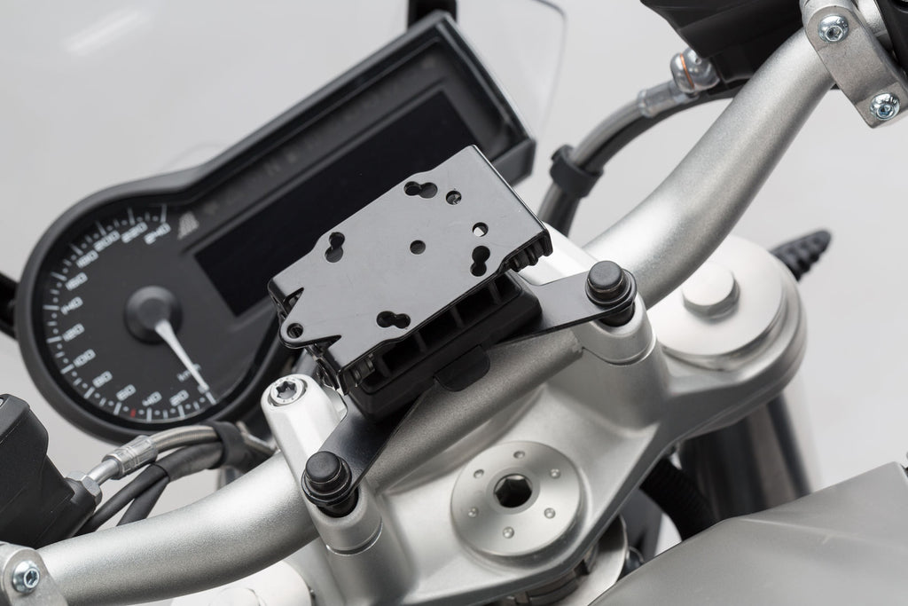 SW Motech GPS mount for handlebar