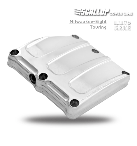 Performance Machine Scallop Transmission Covers