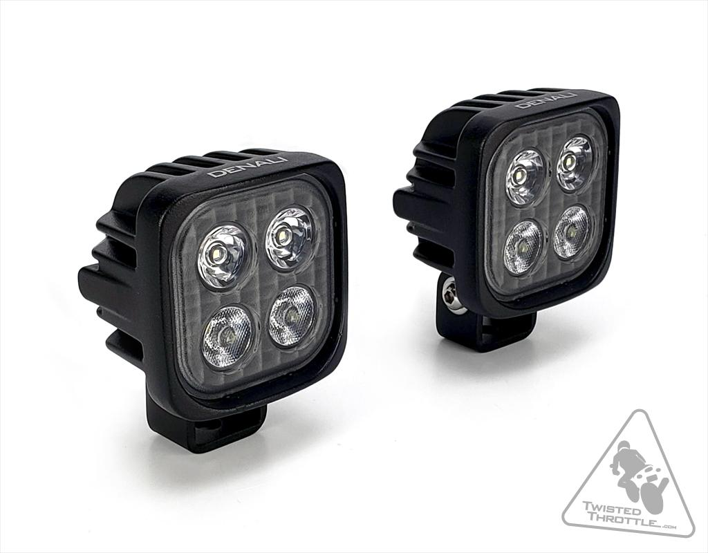 DENALI S4 2.0 TriOptic LED Light Kit With HotSwap Wiring Harness And DataDim Technology