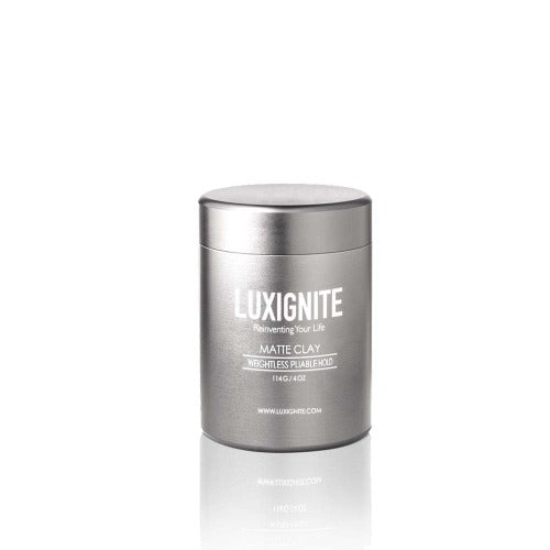High Hold & Matte Finish │ Water based Matte Clay│+ Solid Cologne Luxignite