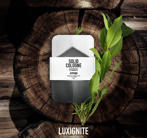 Luxignite|Tobacco and Peppercorns|Organic Solid Cologn (HYPHEN)