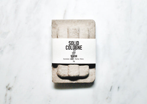 Luxignite|Geranium and Amber|Organic Solid Cologne(SLASH)