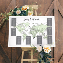 Unique Wedding Table Plan