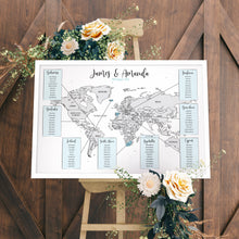 Wedding Table Plan Map