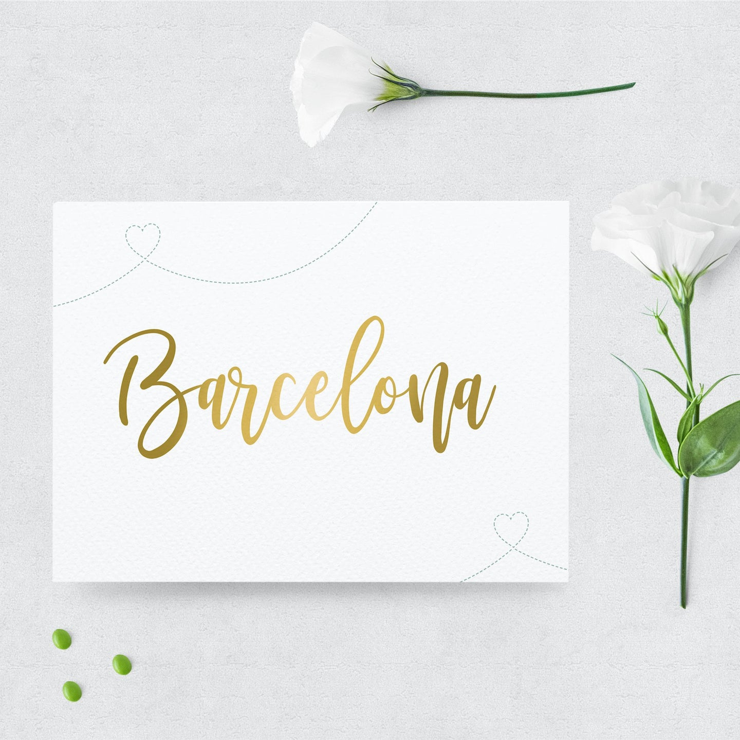 Travel Inspired Wedding Table Name