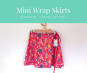 Mini Wrap Skirts