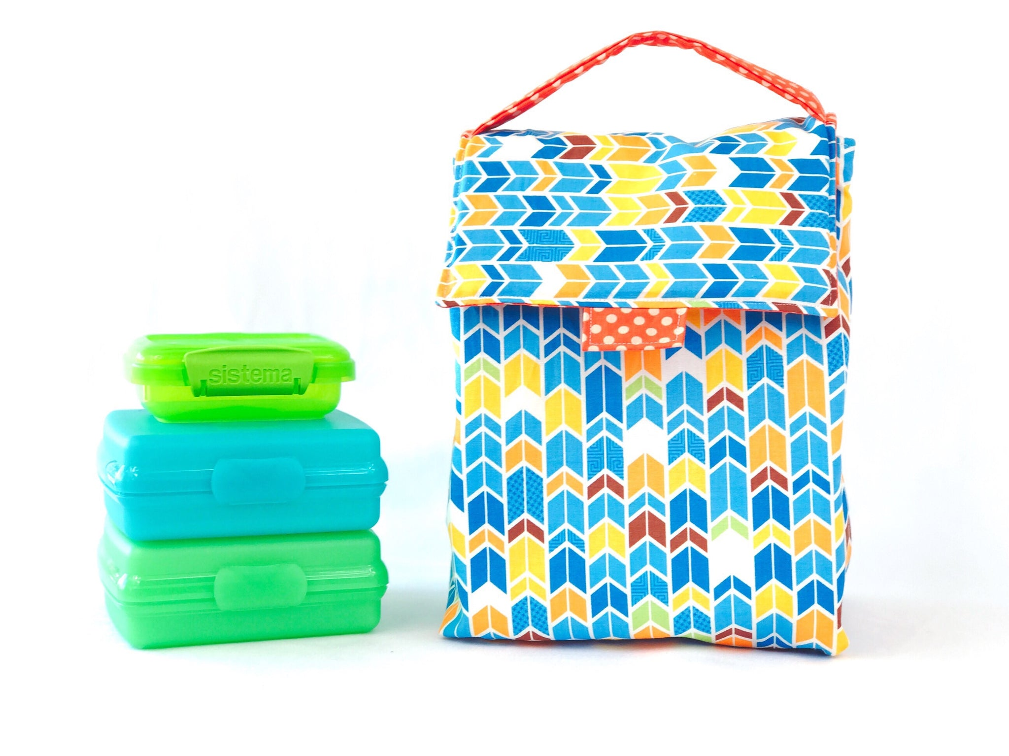 Large Insulated Lunch Bag
