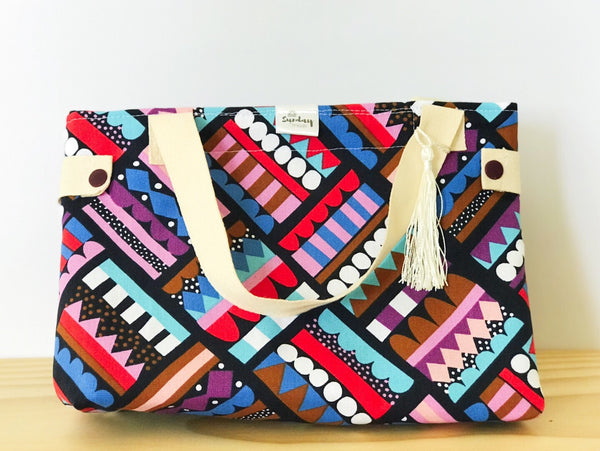 Handmade Lunch Bag - city styles