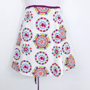 Mini Wrap Skirt