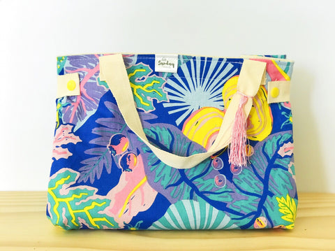 Handmade Lunch Bag - artist delight