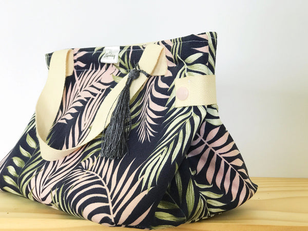 Handmade Lunch Bag - palm fascinations
