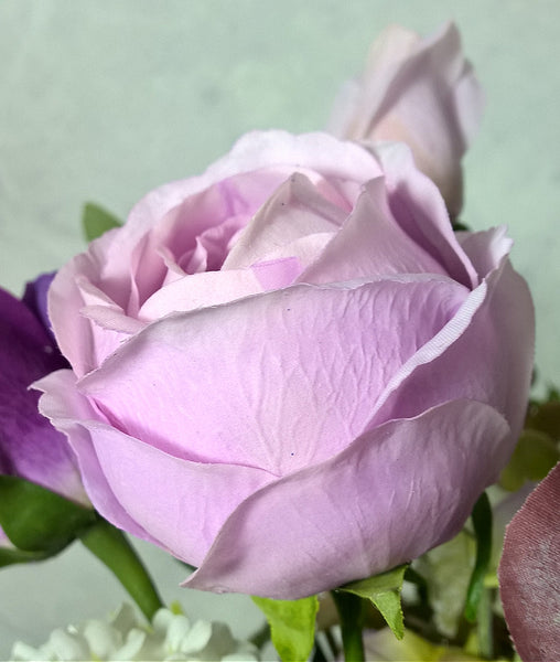 Peony Open Bud - Real  Touch - Lilac