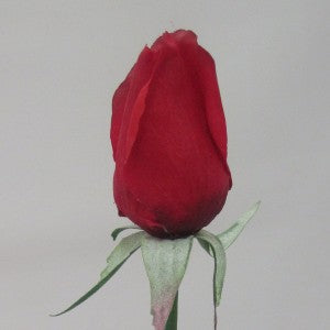 Rose - Real Touch - Bud - Red