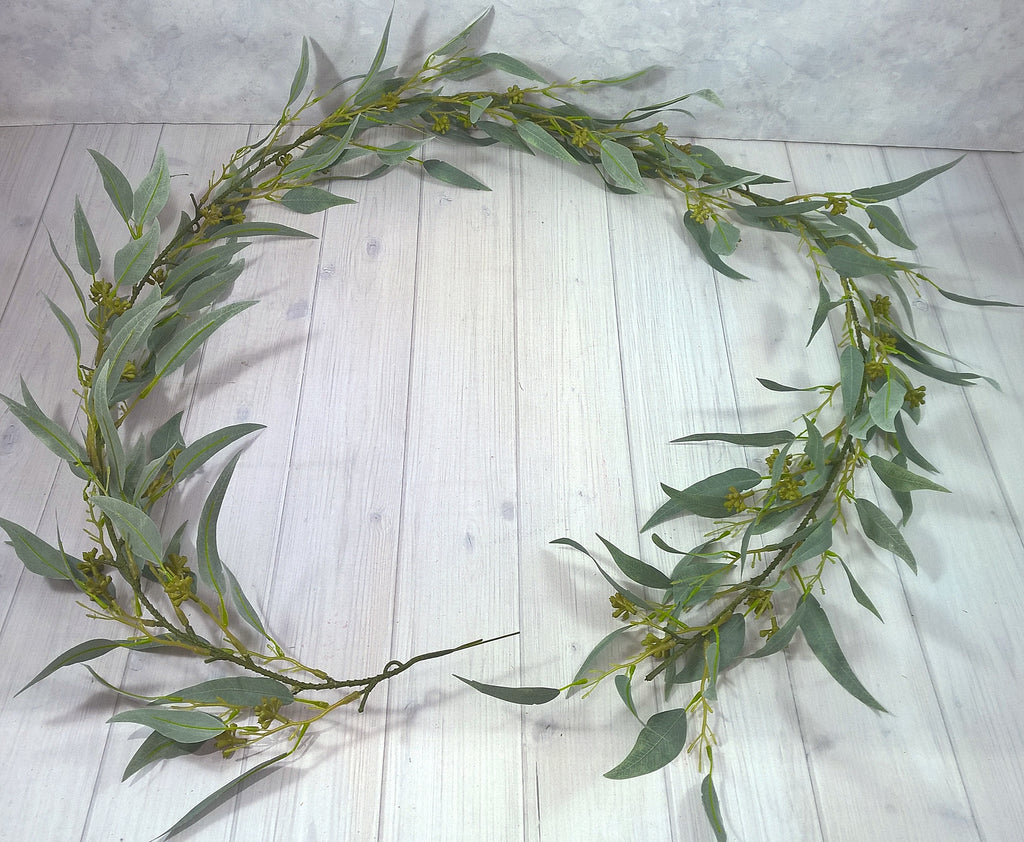Seeded Eucalyptus leaf Garland