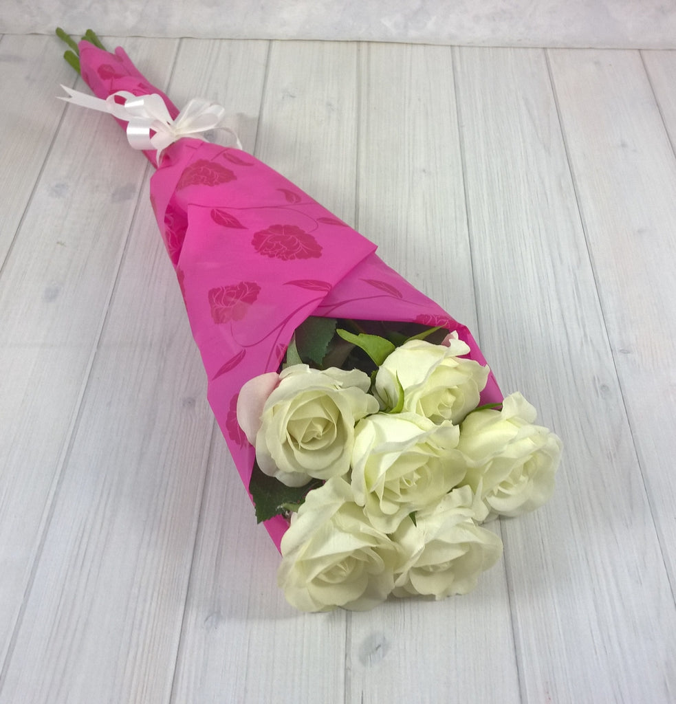 Gift Bouquet 2 - Open Rose - Real Touch