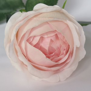 Peony Open Bud - Real  Touch - Light Pink