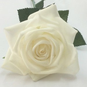 Rose - Natural - Real Touch - White