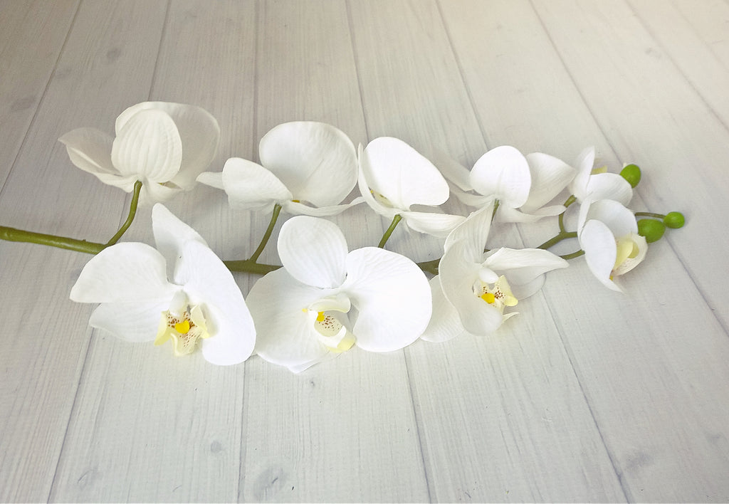 Real Touch Phalaenopsis Orchid 9 Flowers