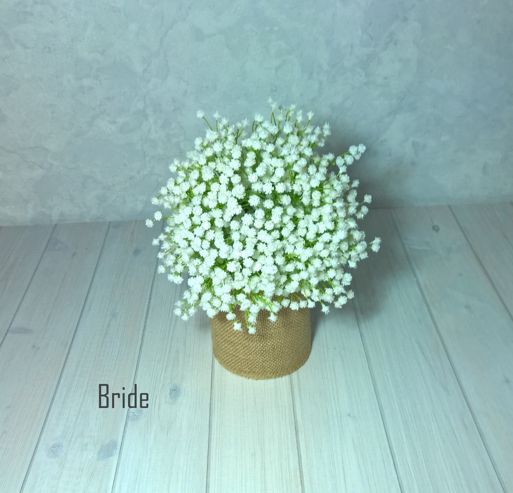 Sky Bridal Bouquet $85