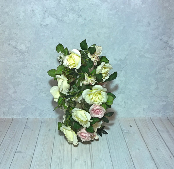 Rose Garland with added flowers