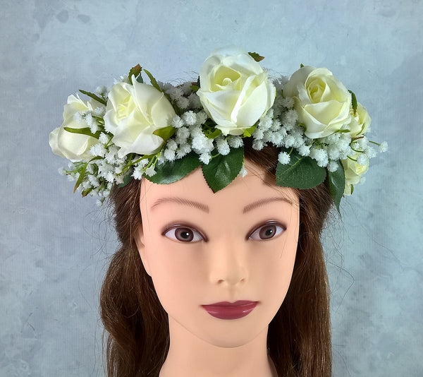 Rose Flower Crown $65