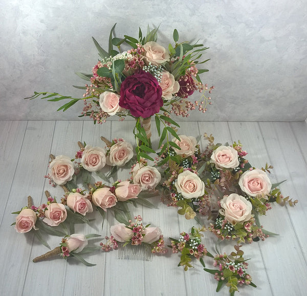 Julie - Bridal Bouquet $160