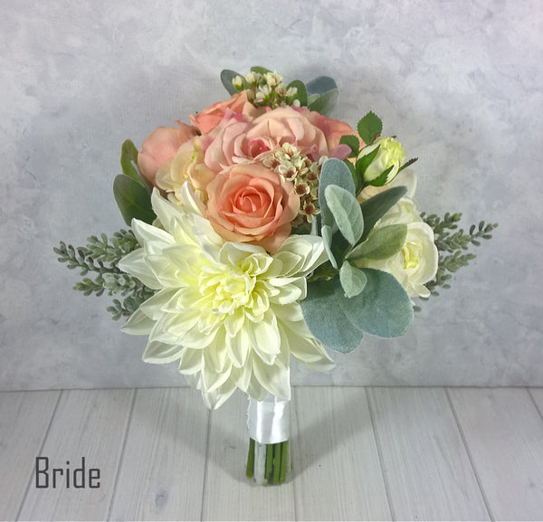 Bella 2 Bridal Bouquet $160