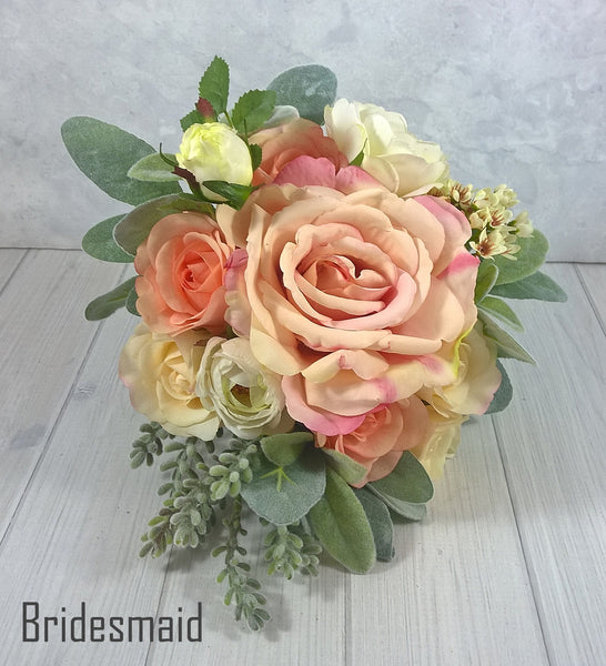 Bella 2 Bridal Bouquet $165