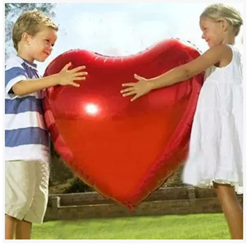 Wedding Balloon Supersize 75cm Red Heart Shap Foil Air Balloons Wedding Party Say Love Decorations Marriage Ballon Supplies east