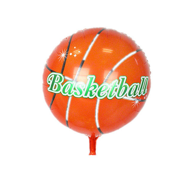 18inch volleyball Basketball Foil Balloons Inflatable classic toys Balloon happy Birthday balloons Party Supplies air balloons - UrbanBalloons.COM