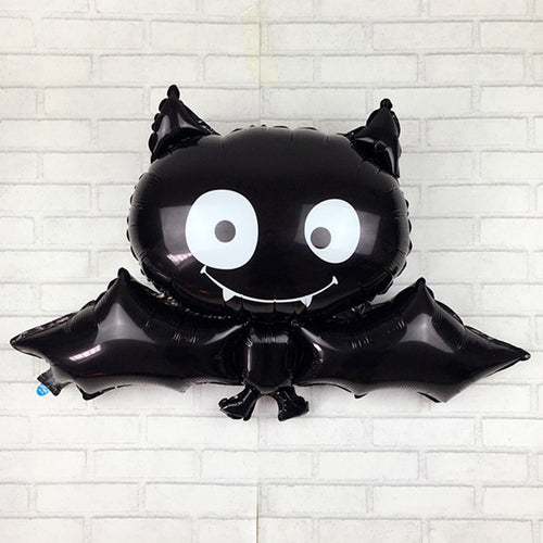 XXPWJ Free shipping 88cm * 64cm black bat Halloween foil balloon toys for children birthday party balloons - UrbanBalloons.COM