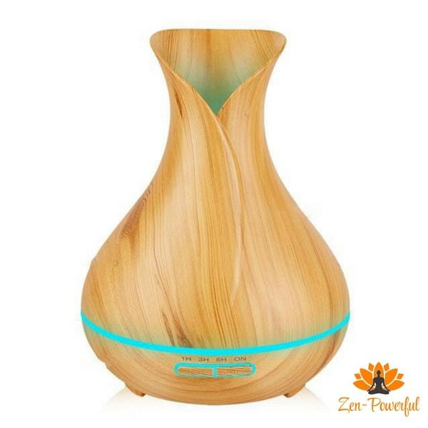 Diffuseur d'huiles essentielles - Humidificateur d'air - Zen-Powerful