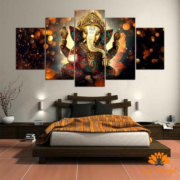 Tableaux Muraux Ganesh - Zen-Powerful