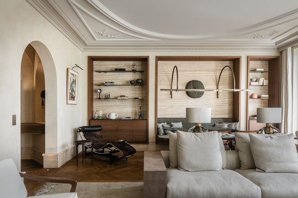 Renovation of a Haussmannian apartment in Paris