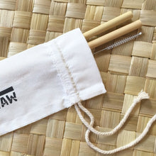 Yourstraw reusable organic bamboo straws personal pack