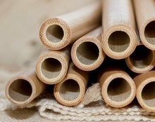 Bulk lot 100 Bamboo Straws 25% discount offer